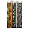 مداد مشکی آریا مدل ZOO SET کدA1  بسته 12 عددی