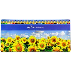 مداد رنگی 48 رنگ اسکای طرح آفتابگردان