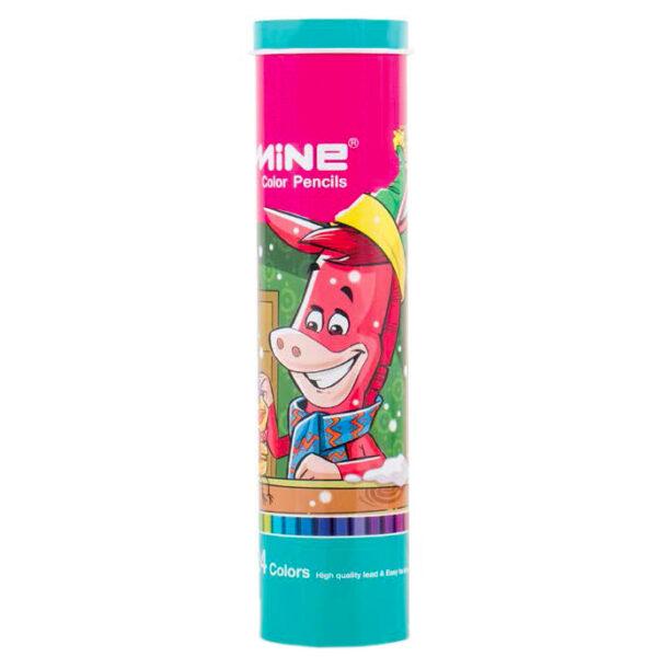 مداد رنگی 24 رنگ ماین کد 2-424