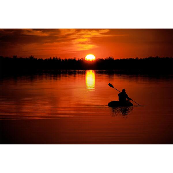 تابلو شاسی سری زیباترین عکس های جهان طرح غروب خورشید کد 268