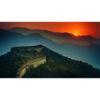 تابلو شاسی سری زیباترین عکس های جهان طرح دیوار بزرگ چین کد 294