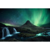 تابلو شاسی سری زیباترین عکس های جهان طرح شفق قطبی کد 296