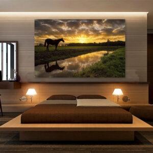 تابلو شاسی طرح زیبایی های طبیعت کد 344