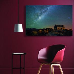 تابلو شاسی سری برترین عکس های نجومی طرح کهکشان راه شیری کد 463