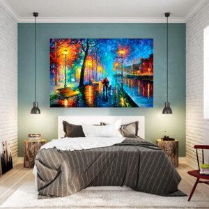 تابلو شاسی سری نقاشی های زیبا مدل عشق کد 496