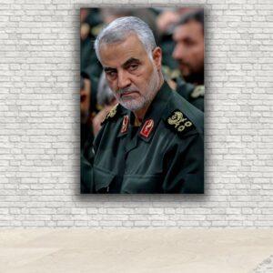 تابلو شاسی مدل شهید سردار سلیمانی کد160