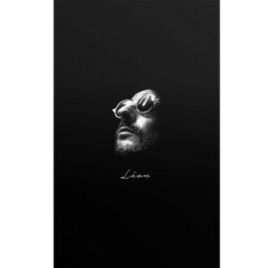 تابلو شاسی طرح پرتره ی هنرمندان مشهور-Leon کد 40