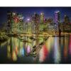 تابلو شاسی طرح زیباترین عکس های جهان- آسمان شب نیویورک کد 73