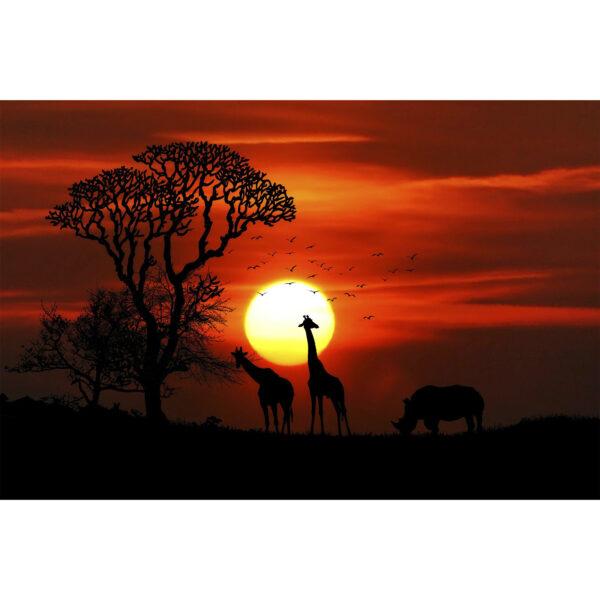 تابلو شاسی سری زیباترین عکس های جهان طرح طبیعت دوست داشتنی کد 144