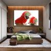 تابلو شاسی سری حیوانات دوست داشتنی طرح سگ های خوش تیپ کد 149