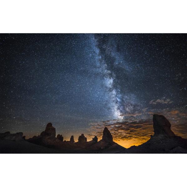 تابلو شاسی سری زیباترین عکس های جهان طرح کهکشان راه شیری کد 243