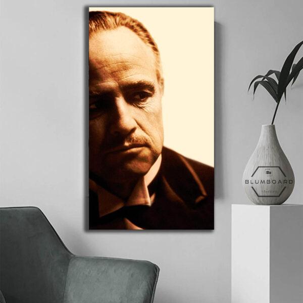 تابلو شاسی مدل برترین عکسهای فیلم و سینما طرح پدر خوانده -hz-کد80