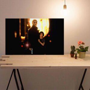 تابلو شاسی مدل  سری بازیگران مشهور فیلم و سینما - ژان رنو لئون -hz- کد 27