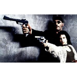 تابلو شاسی سری بازیگران مشهور فیلم و سینما مدل ژان رنو لئون  -hz کد33
