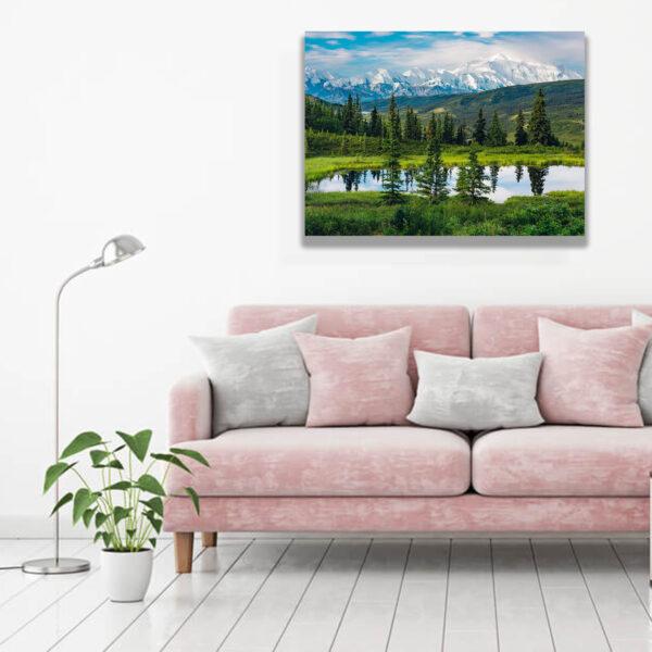 تابلوشاسی طرح دریاچه سبز کد755